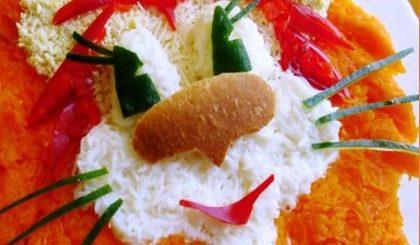 Рецепты салатов для малышей