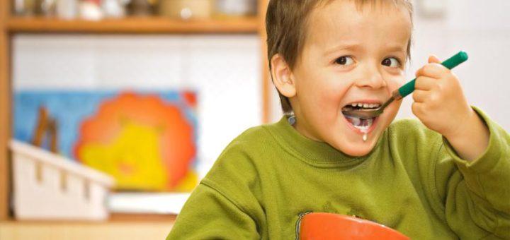 Рецепт детской каши