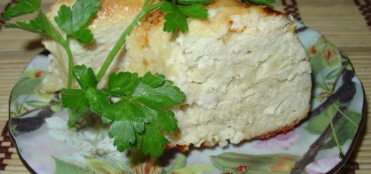 Куриная запеканка с картошкой